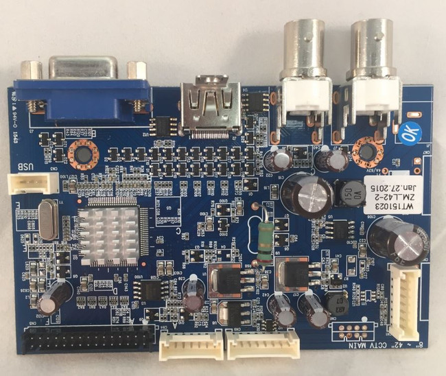 Ganz WT151023 Display / Main Board for ZM-L42-2