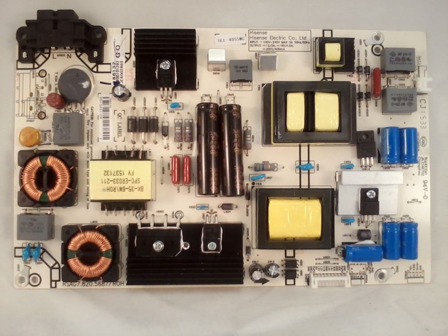 Hisense 186132 Power Supply (front)
