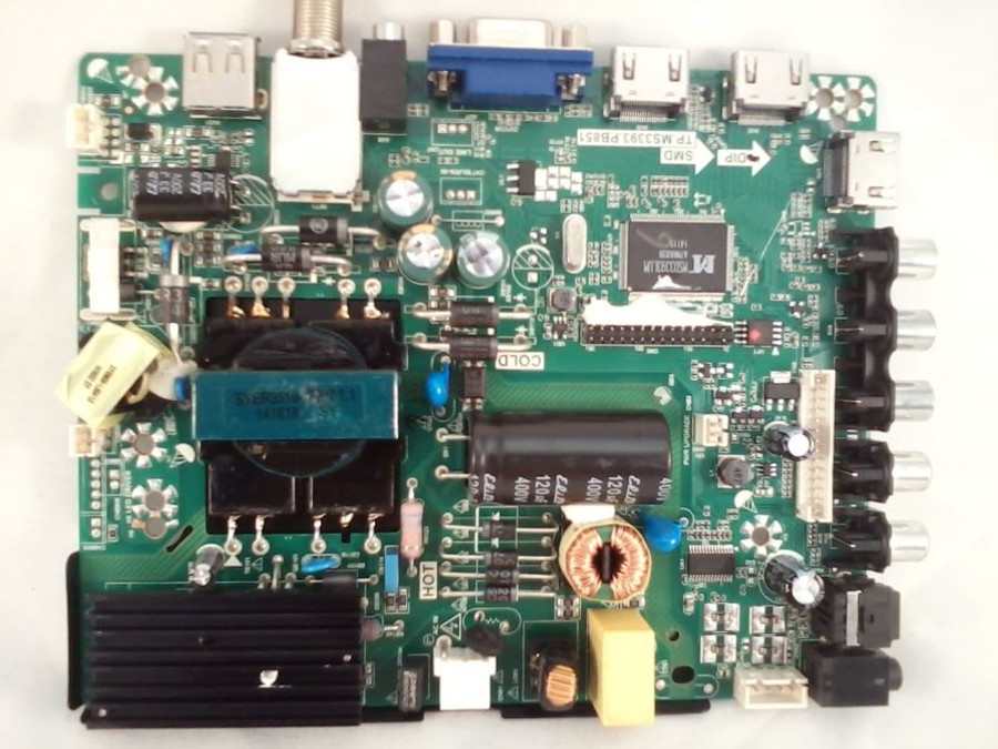 Element 34012409 Main Board / Power Supply (front)