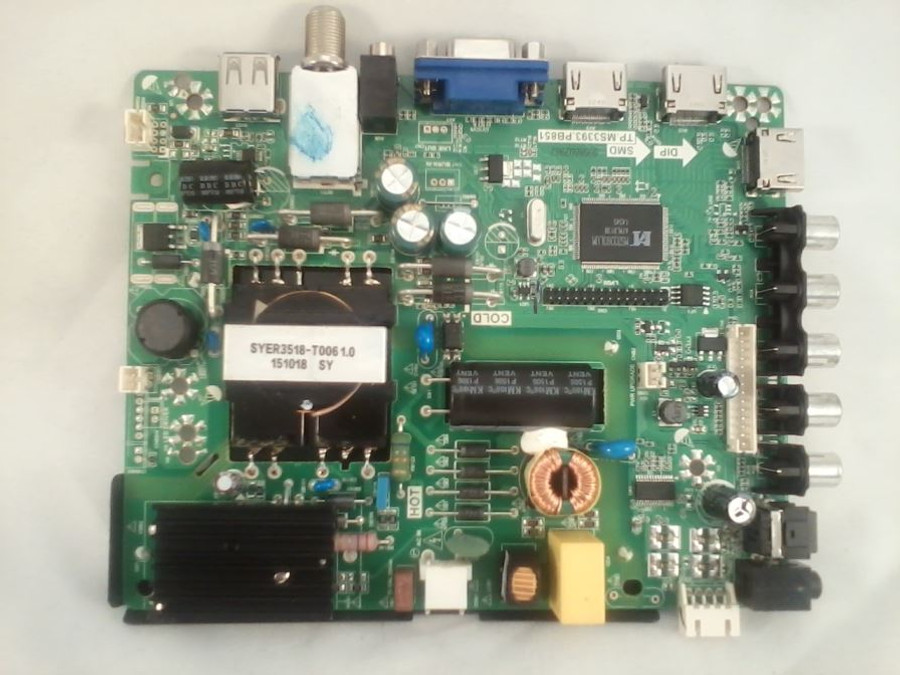 Element 22002A0028ST-75 Main Board / Power Supply (front)