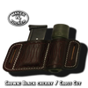 Combo Flashlight / Magazine Pouch By Tucker Leather
