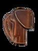 "HF-1 dark brown without ""Sweat Shield"""