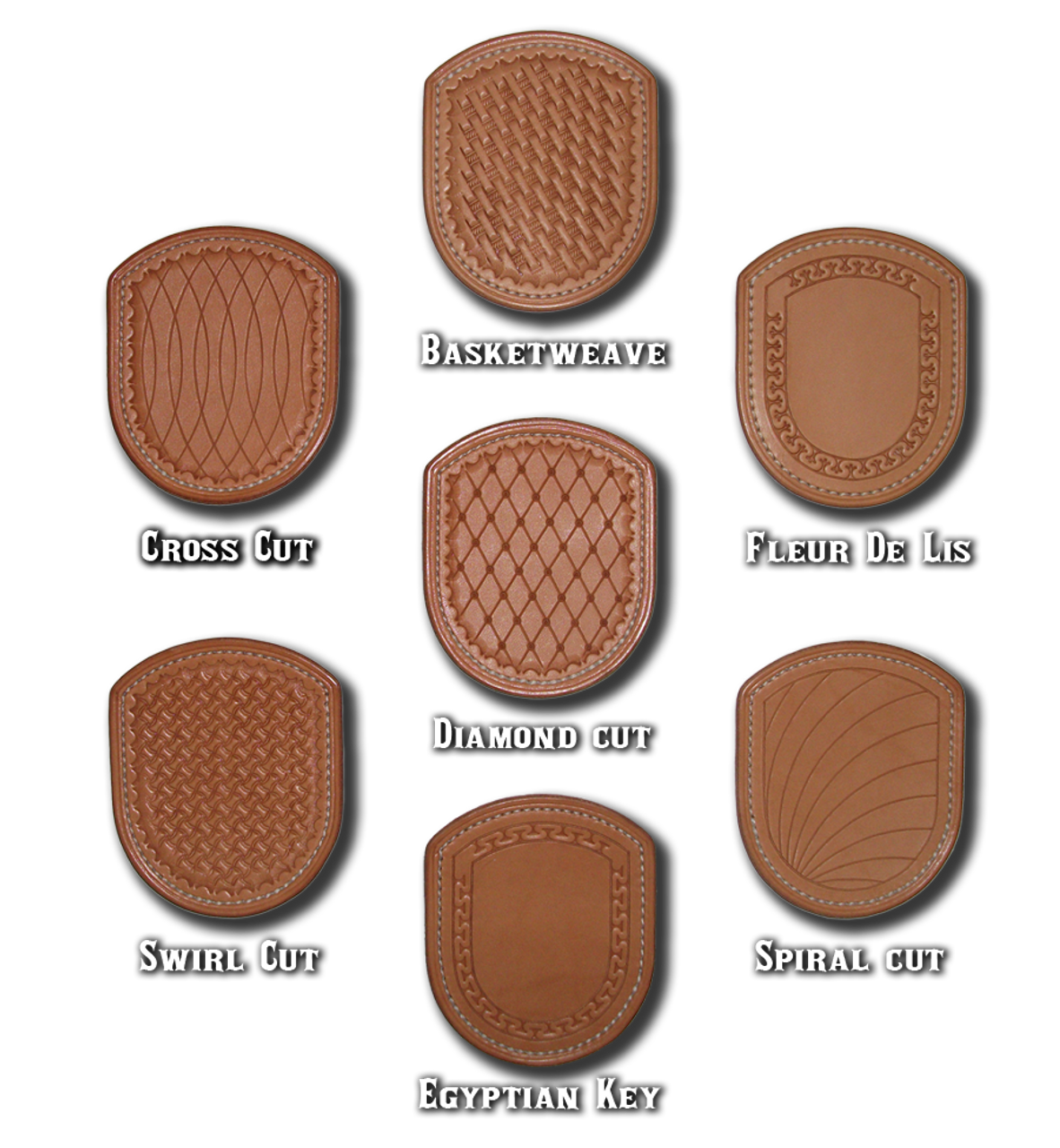 Tooling and stamping options. Customer specified patterns will be considered.