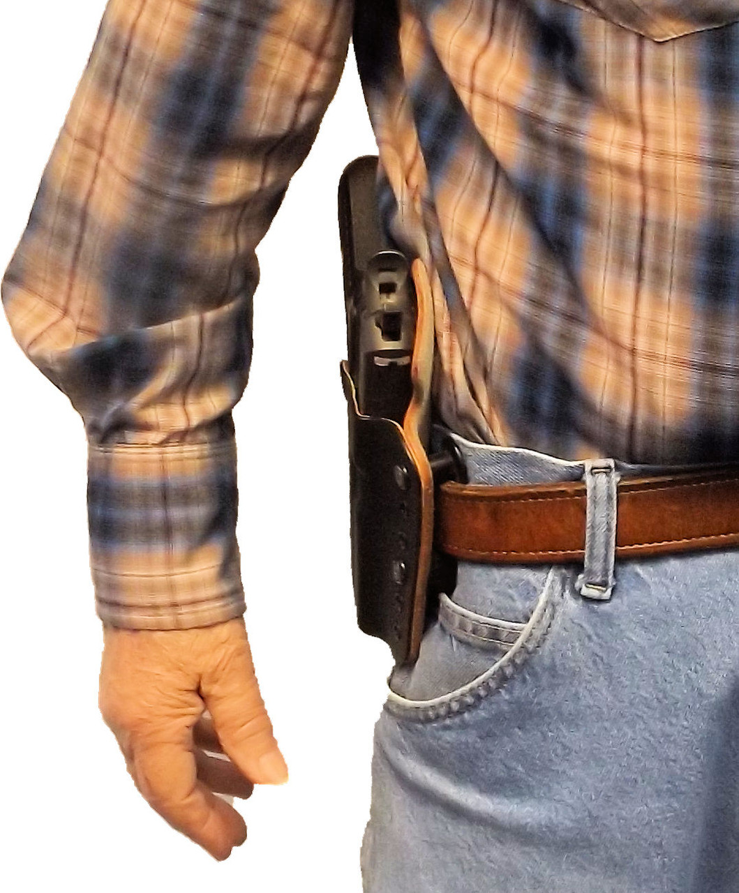 The Solution - LLKLBL rides close for easy  concealment and comfort