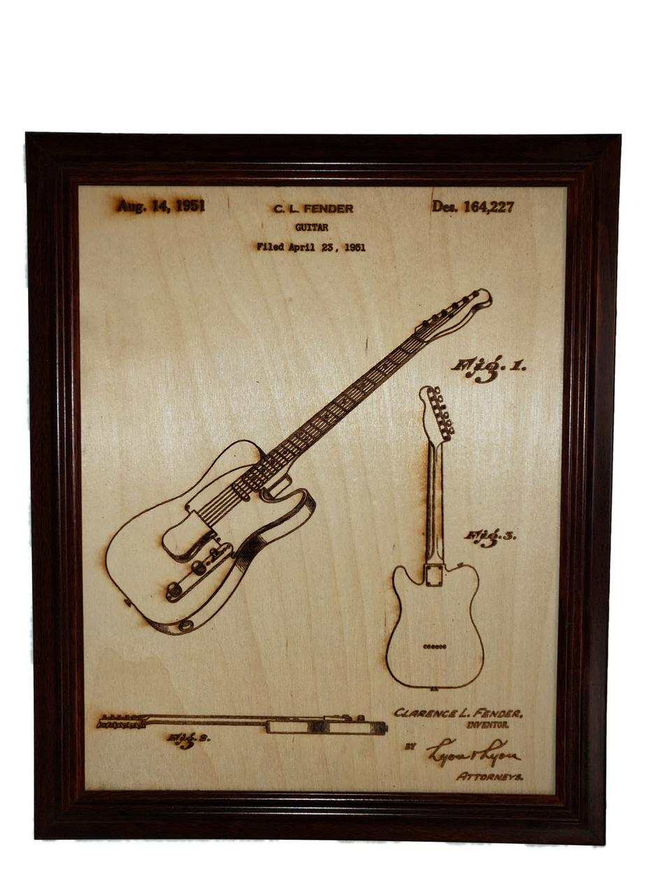Fender Telecaster guitar patent #164,227