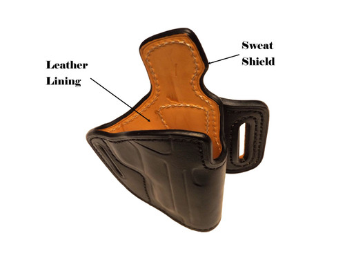 Features of an HFR holster