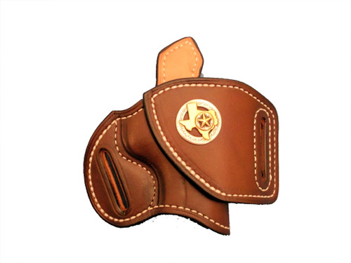 HF-2 with leather lining, sweat shield and concho