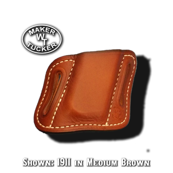 Single Angled Magazine Pouch By Tucker Leather