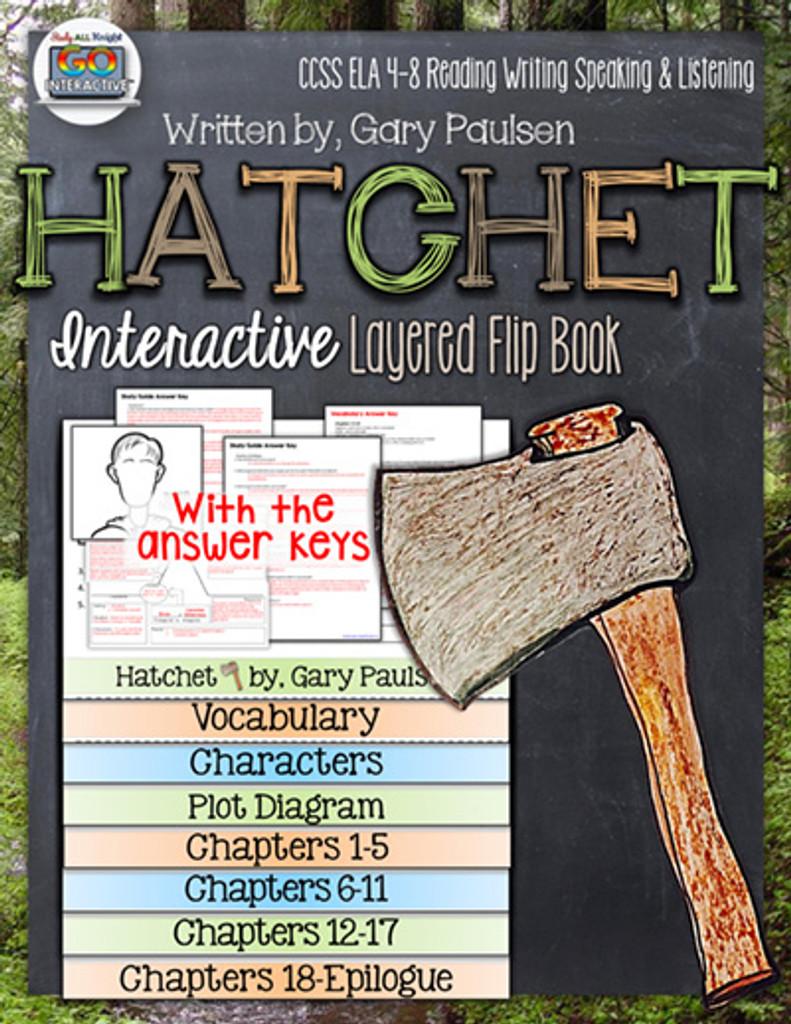 Hatchet Novel Study Flip Book