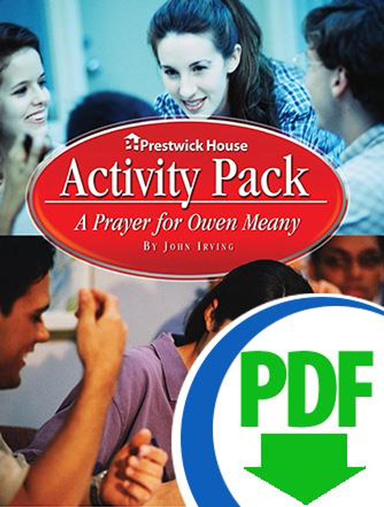 A Prayer for Own Meany Activities Pack