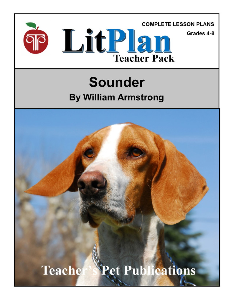 Sounder LitPlan Lesson Plans (Download)