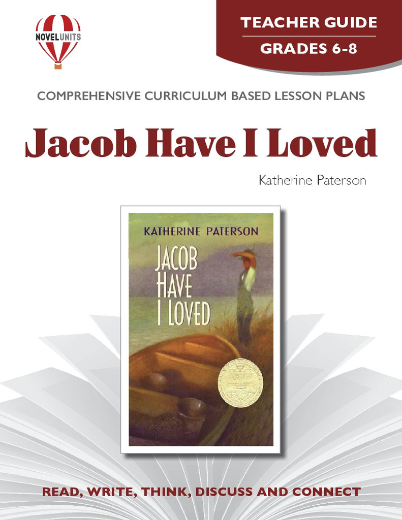 Jacob Have I Loved Novel Unit Teacher Guide