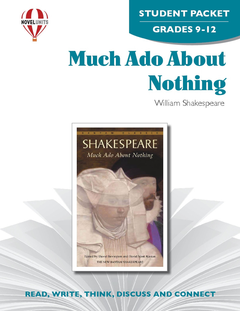 Much Ado About Nothing Novel Unit Student Packet