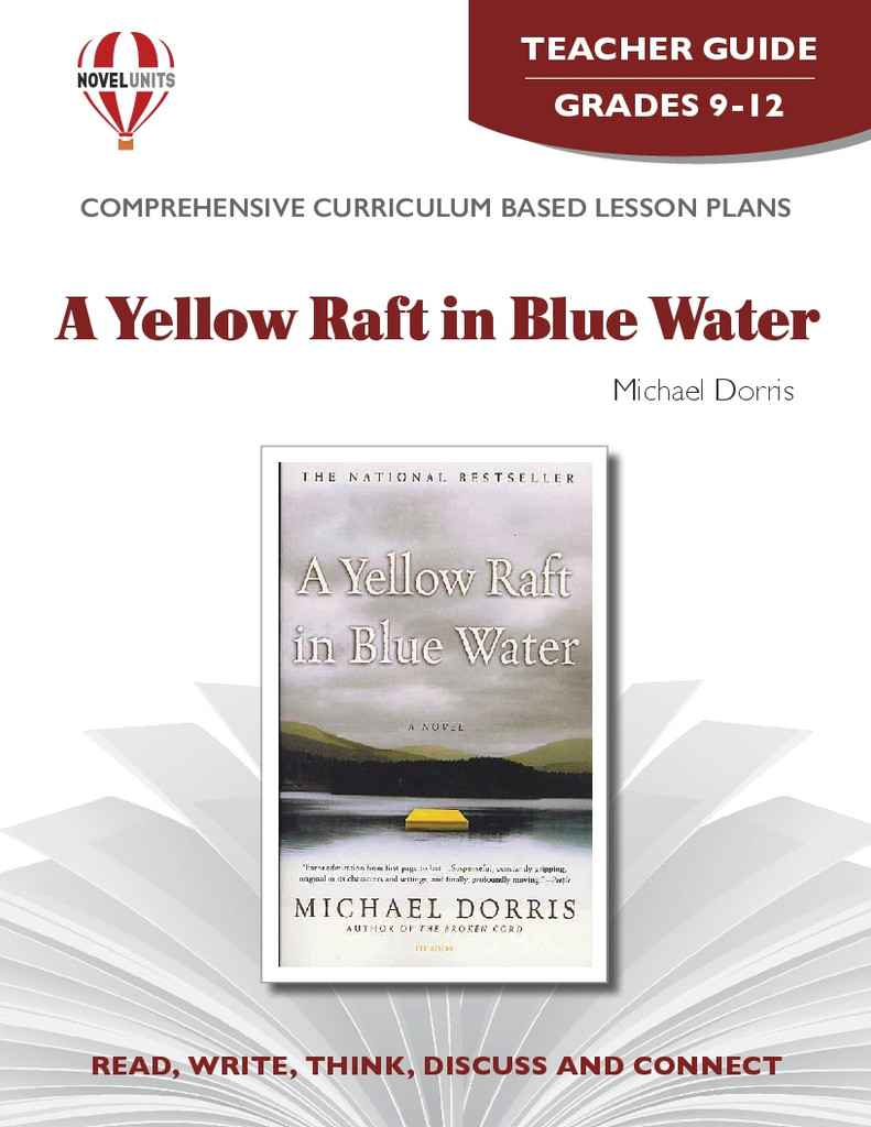 A Yellow Raft In Blue Water Novel Unit Teacher Guide PDF Download