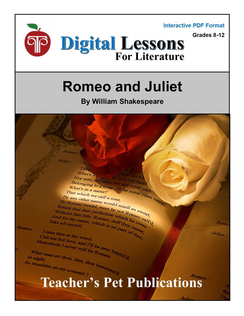 Romeo and Juliet Digital Student Lessons