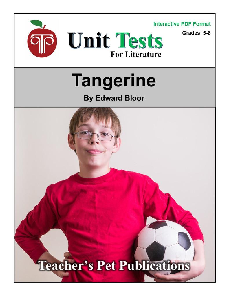 Tangerine Interactive PDF Unit Test