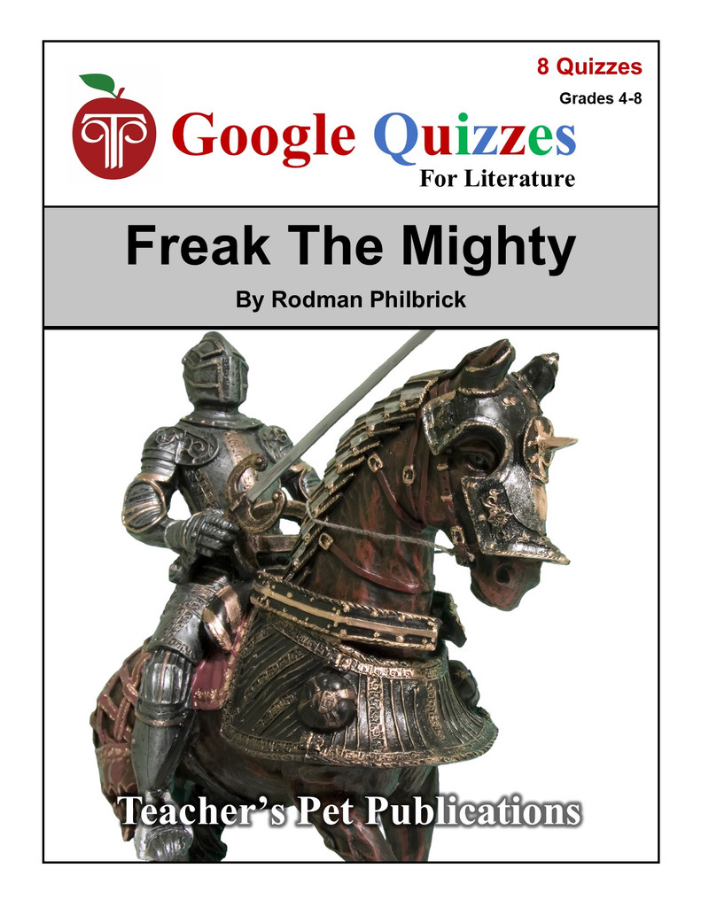 Freak the Mighty Google Forms Quizzes