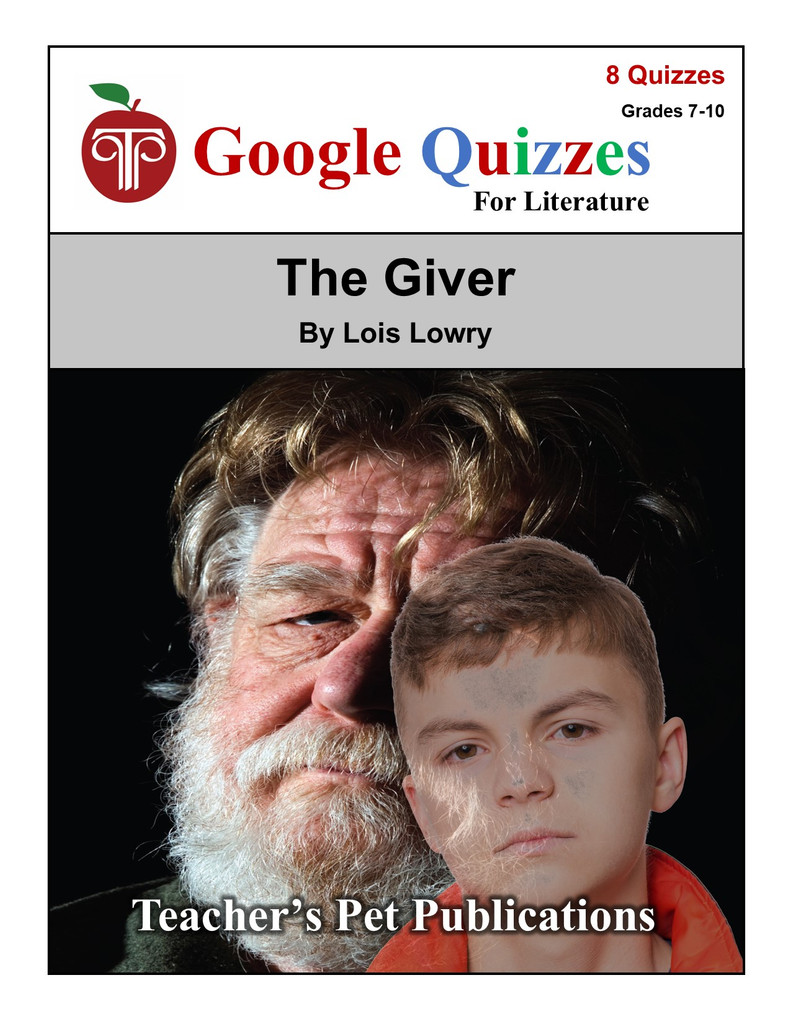 The Giver Google Forms Quizzes