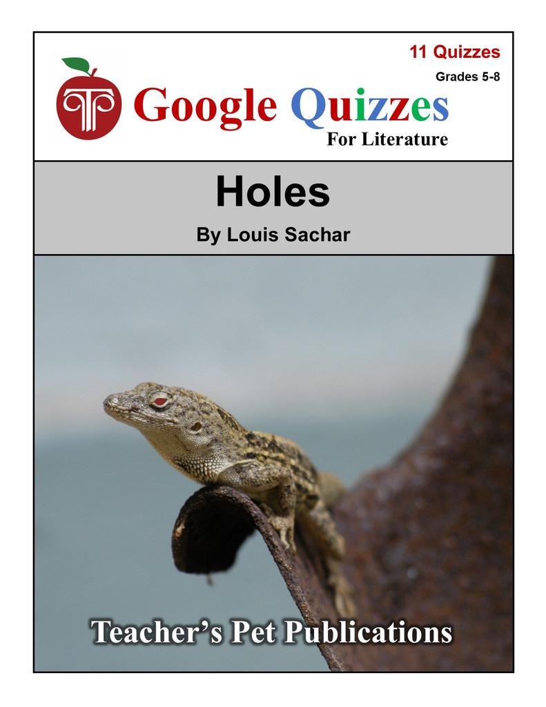 Holes Google Forms Quizzes