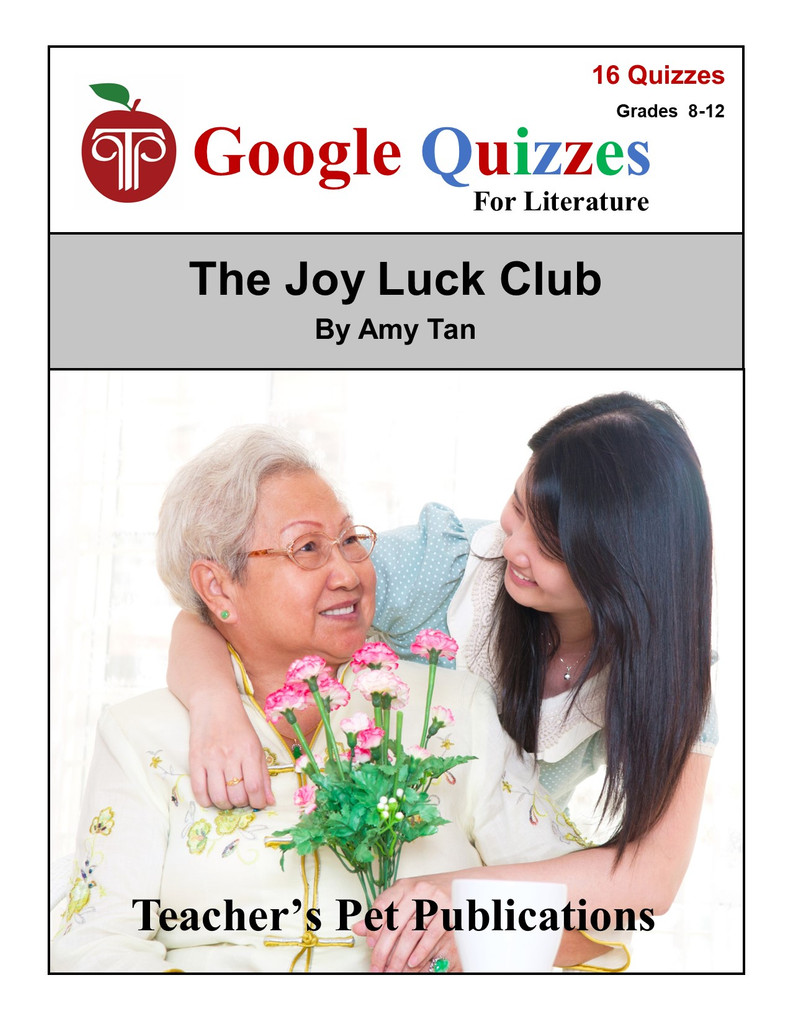 The Joy Luck Club Google Forms Quizzes