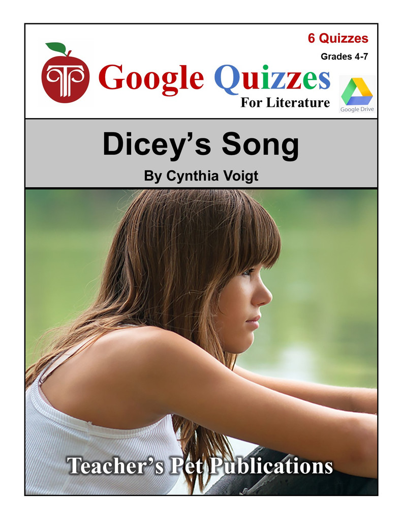 Dicey's Song Google Forms Quizzes