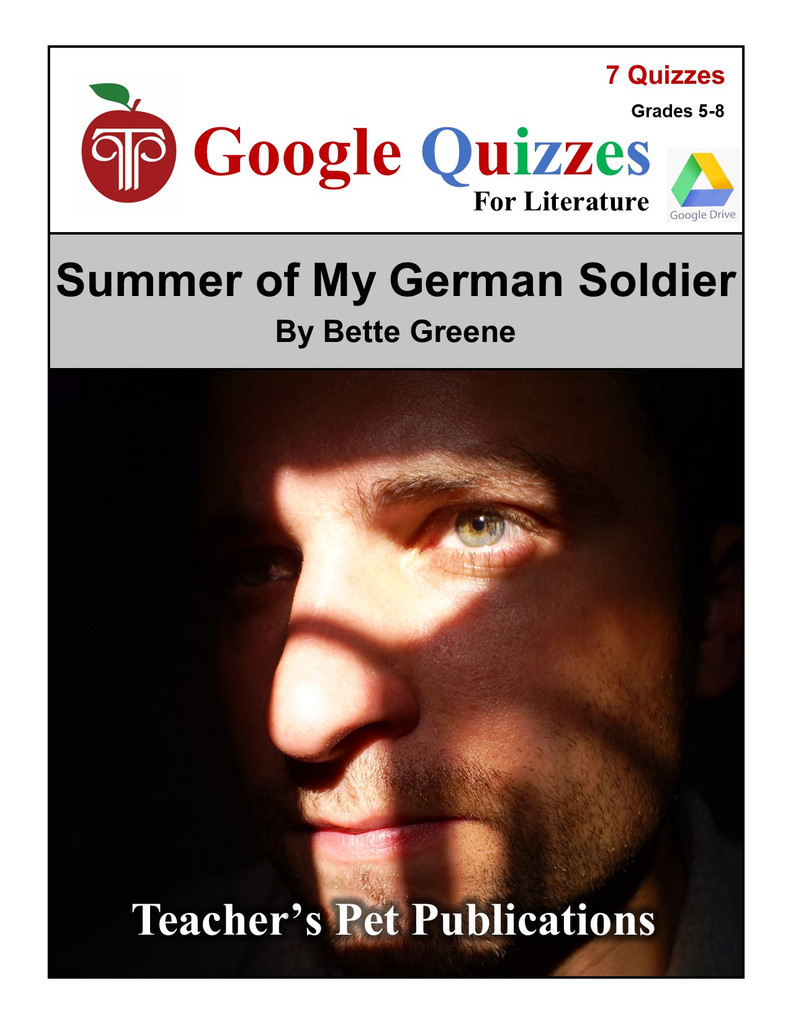 Summer of My German Soldier Google Forms Quizzes