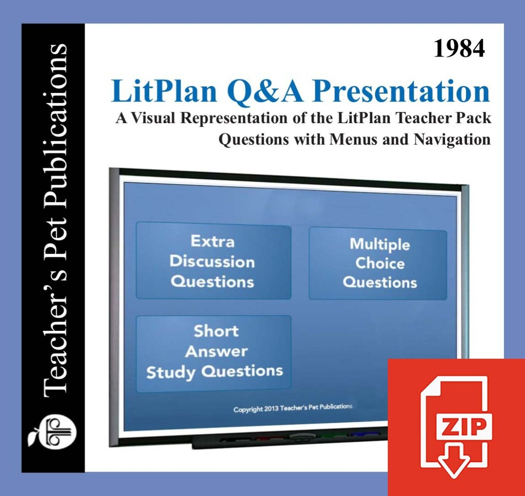 1984 Study Questions on Presentation Slides | Q&A Presentation