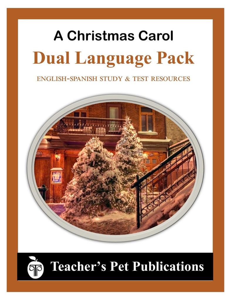 A Christmas Carol Dual Language Pack English-Spanish Novel Study Guide