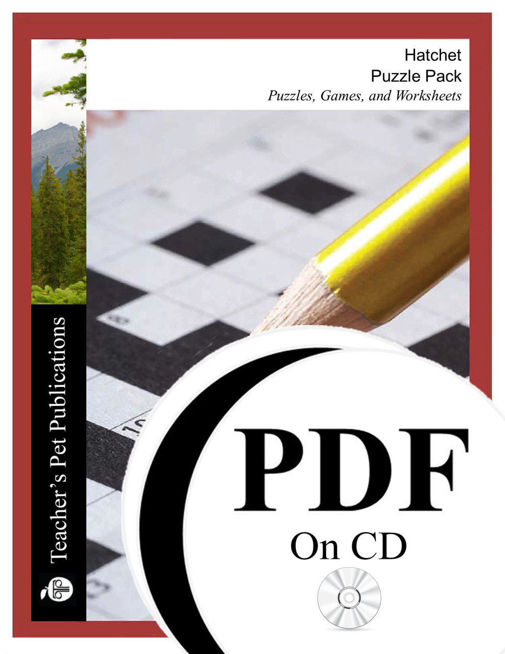 Hatchet Puzzle Pack Worksheets, Activities, Games (PDF on CD)