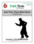 And Then There Were None Interactive PDF Unit Test | Great for Google Classroom!