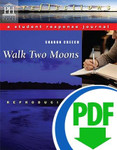 Walk Two Moons Reader Response Journal