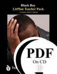 Black Boy Lesson Plans | LitPlan Teacher Pack