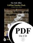 Go Ask Alice LitPlan Lesson Plans (PDF on CD)