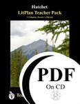 Hatchet LitPlan Lesson Plans (PDF on CD)