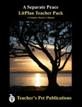 A Separate Peace LitPlan Lesson Plans (PDF on CD)