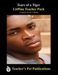 Tears of a Tiger Lesson Plans | LitPlan Teacher Pack