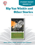 Rip Van Winkle And Other Stories Novel Unit Student Packet
