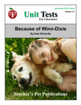 Because of Winn-Dixie Interactive PDF Unit Test | Great for Google Classroom!