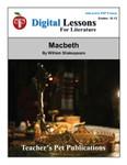 Macbeth Digital Lessons For Literature