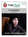 The Outsiders Interactive PDF Unit Test