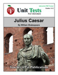 Julius Caesar Interactive PDF Unit Test
