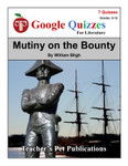Mutiny on the Bounty Google Forms Quizzes