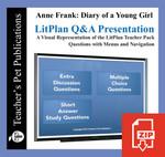 Anne Frank Diary Study Questions on Presentation Slides | Q&A Presentation