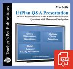 Macbeth Study Questions on Presentation Slides | Q&A Presentation