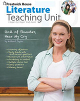 Roll of Thunder Hear My Cry Prestwick House Novel Teaching Unit
