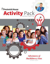 The Adventures of Huckleberry Finn Activity Pack