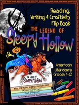 The Legend of Sleepy Hollow Novel Study Flip Book
