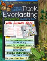 Tuck Everlasting Novel Study Flip Book