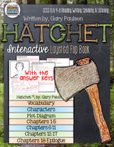 Hatchet Novel Study Flip Book