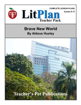 Brave New World LitPlan Lesson Plans (Download)